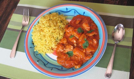 An english curry recipe Tikka Masala