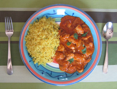 Chicken Curry Plate